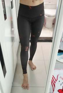🚚 Teeki Hot Pant緊身全長褲BUFFALO PRINCESS超顯瘦丶超透氣丶超彈性快乾瑜珈褲 運動褲(XS號)