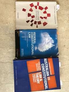 Australia constitutional n evidence law textbooks
