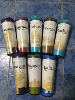Starbucks tumbler ( Cities from China )