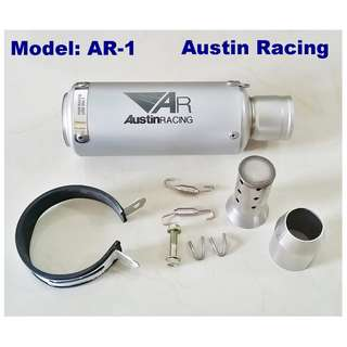 Austin Racing Muffler Exhaust Motorcycle Slip On Ekzos
