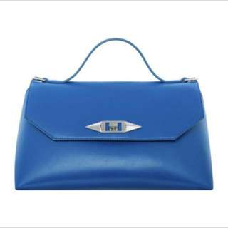 Charles&keith pillow blue bag