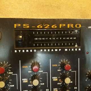 DJ Stereo Pre Amp Mixer PS-626Pro