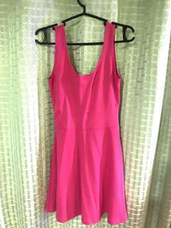 REDHEAD pink sleeveless dress