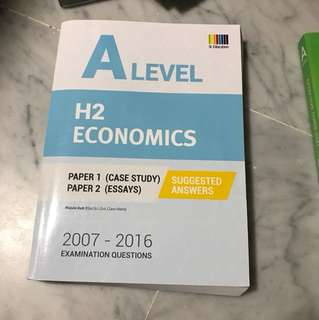 H2 Econs TYS suggested answers book