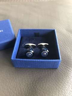 Swarovski - Blue & Silver Cufflinks (New)