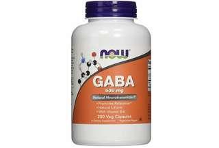 [IN-STOCK] NOW GABA 500 mg,200 Veg Capsules
