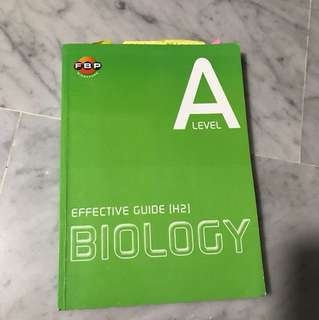 H2 biology reference book / guide book