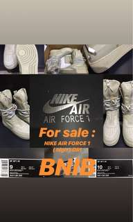 New!! Sepatu Nike Air Force 1 ORI!!