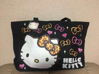 日本🇯🇵Hello Kitty 特大豹紋側咩袋(限量版)