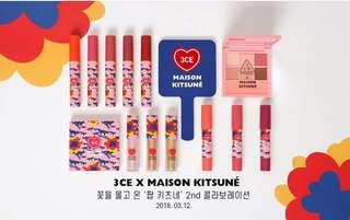 Lip Tint 3CE Maison Kitsune Velvet