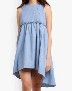藍色洋裝👗