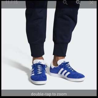 Adidas Men Originals Gazelle Blue/White/Gold