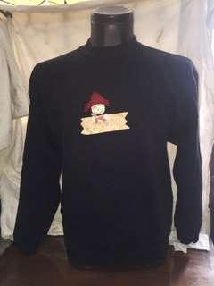 JERZEES black sweatshirt large