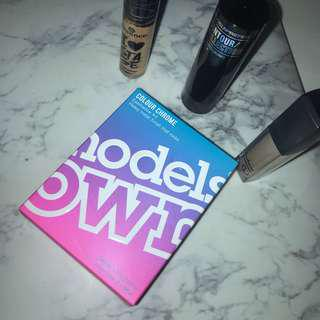 Elf concealer, Modelsprefer contouring stick, Essence concealer & Models Own Eyeshadow kit (brand new)