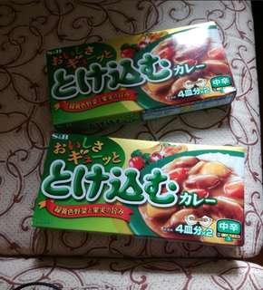 日本咖喱磚 (15元一盒)