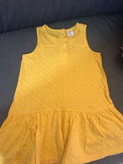 H&M kids yellow dress