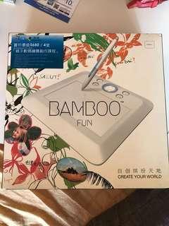 Bamboo fun 繪圖板