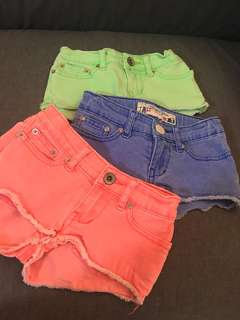 Kids Shorts (each)