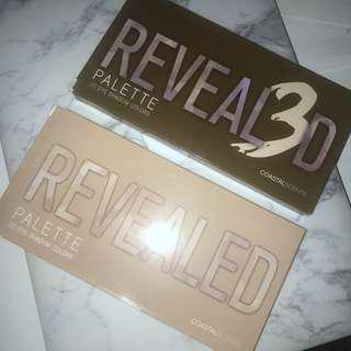 Revealed & revealed 3 palettes
