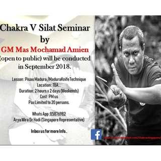5th Annual Seminar 2018 - GM Mas Mochamad Amin