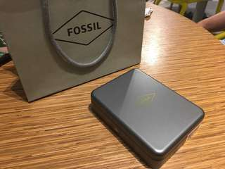 Fossil Card Holder with Money Clip
