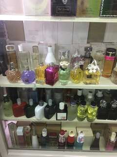 Branded perfumes tester and good stock