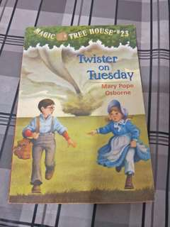 Magic Tree House -Twister on Tuesday