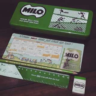 Milo Pencil Case Set