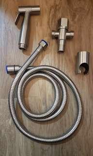 Stainless steel toilet spray