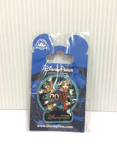 Disney pin2013 Mickey & friends 襟章