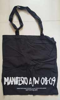 YSL MANIFESTO 布袋 黑色