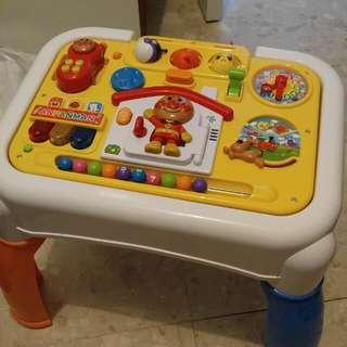 Anpanman 麵包超人 4合1音樂玩具枱