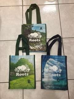 Roots紀念提袋