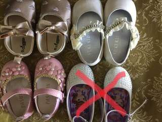 Baby shoes bundle of 3