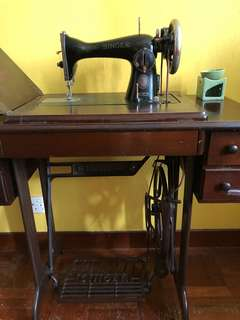 Antique Sewing Machine - Singer