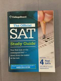 SAT Study Guide by College Board