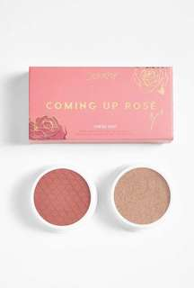 Colourpop Cheek Duo in Coming Up Rose