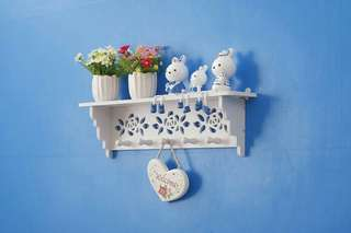 MH50105 DECORATIVE RACK RAK SHABBY CHIC