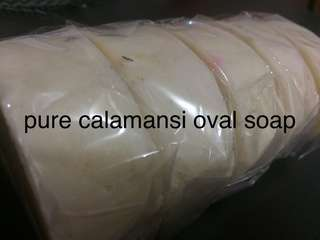 CALAMANSI OVAL SOAP