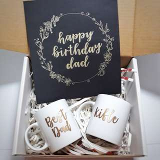 Personalised Giftbox Gift Box Bridesmaid Gift Box Birthday Present Personalised Mug Mugs Customised Cups Cup Calligraphy Customisable Birthday Gift Farewell Graduation Teachers Day Childrens Day Couple Anniversary Gift