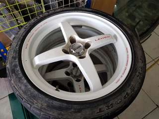 16inch Lenso 4spoke rims
