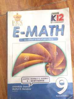g9 math book