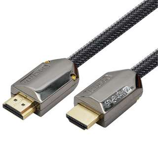 Alphaplus Braided Nylon Premium HDMI 2.0 Cable with Ethernet - 1M