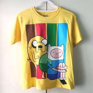 CN Girls' Yellow Adventure Time Shirt (Size L)