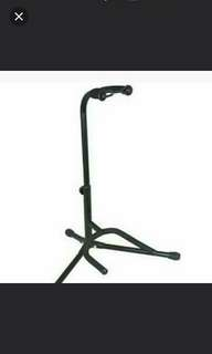 New Single Upright Guitar Stand Black Metal Quality