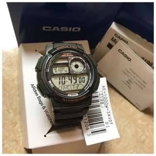 💯 Authentic Casio Watch AE-1000W