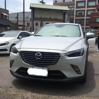 2016年CX-3柴油 柴油跑8萬(可議價)大桃園優質二手中古車買賣