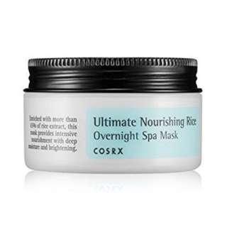 Preloved The Ultimate Nourishing Rice Overnight Spa Mask Original Skincare Korea Murah