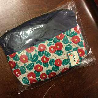 Cosmetic Bag Pencil Case Cherry Cute Womens Girls