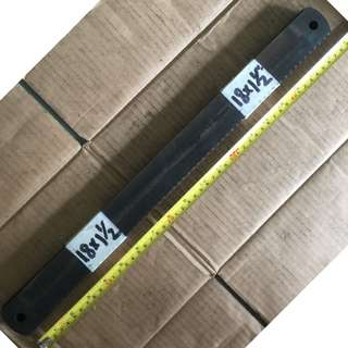"""Ding Dong CS Hacksaw Blade 18"""" x 1 1/2"""" x 0.075"""" x 10T (Made in England)"""